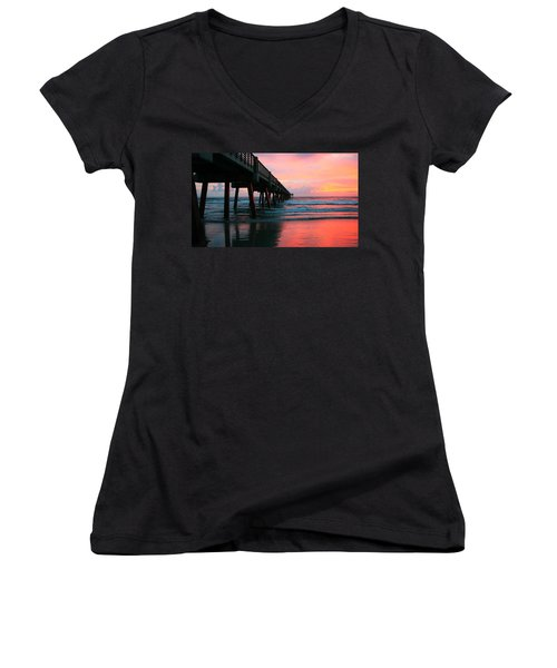 Come With Me Women's V-Neck T-Shirt