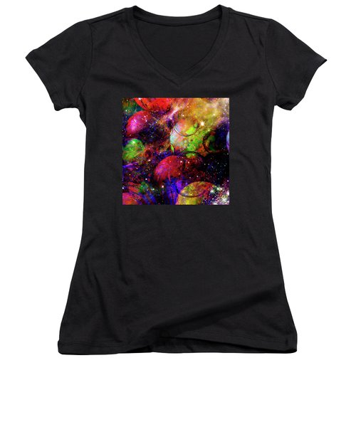 Cosmic Confusion Women's V-Neck