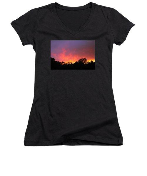 Crepuscule Women's V-Neck T-Shirt