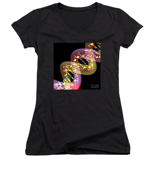 Dna 38 Women's V-Neck