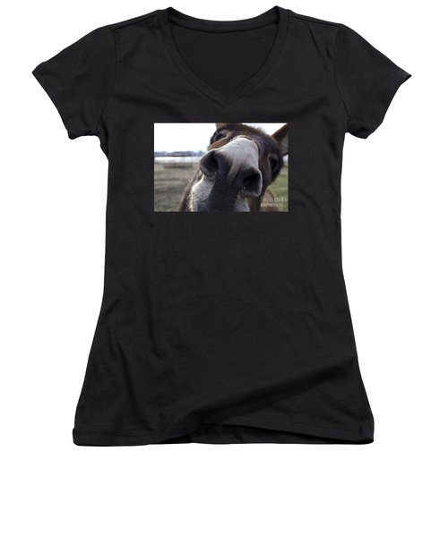 Donkey Women's V-Neck