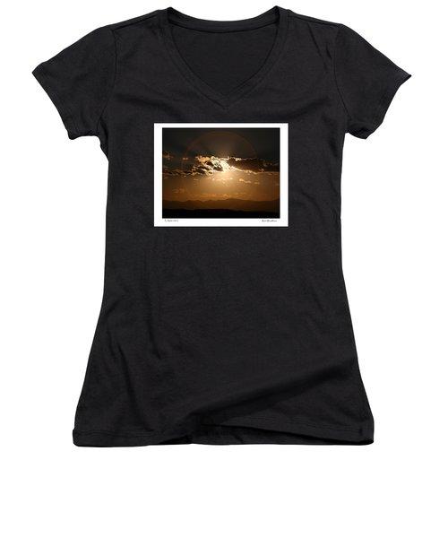 Eclipse 2012 Women's V-Neck T-Shirt