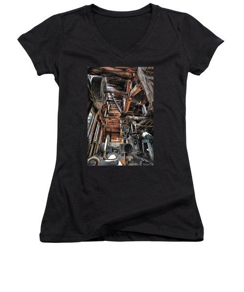Forgotten Mill Women's V-Neck T-Shirt