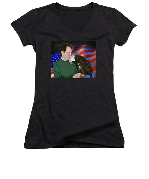 Freedom Friends Women's V-Neck T-Shirt