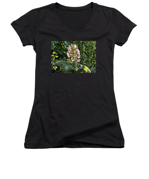 Women's V-Neck T-Shirt (Junior Cut) featuring the photograph Glorious Day by Nava Thompson