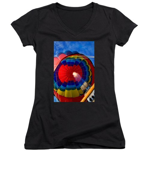 Going Up Women's V-Neck