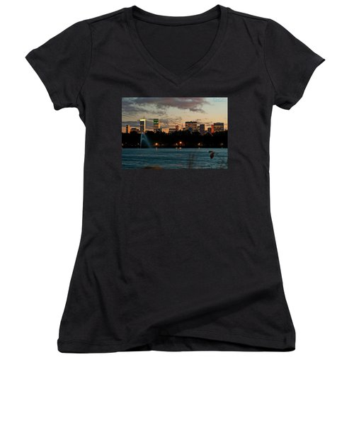 Great Pond Fountain Women's V-Neck