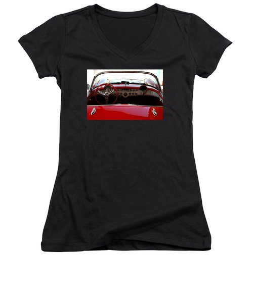 Hackberry Corvette Women's V-Neck (Athletic Fit)