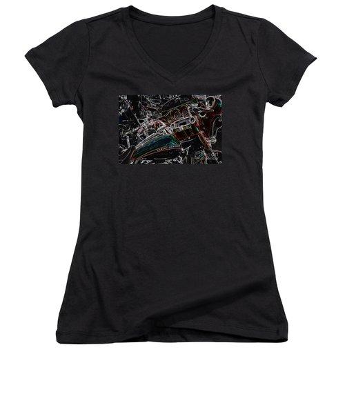 Harley Davidson Style 4 Women's V-Neck