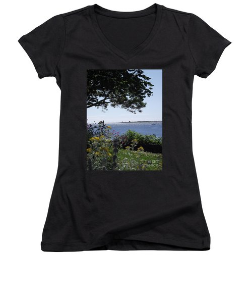 Hillside Beauty Women's V-Neck (Athletic Fit)