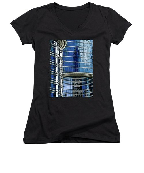 Houston Architecture 1 Women's V-Neck T-Shirt