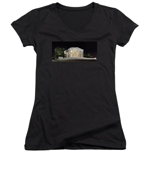 Jefferson Memorial Women's V-Neck