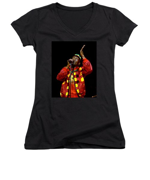 Jimmy Cliff Women's V-Neck T-Shirt