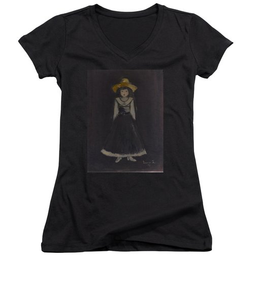 Just A Beautiful Country Girl... Women's V-Neck (Athletic Fit)