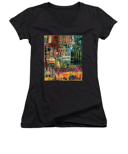 Kenya On My Mind Women's V-Neck T-Shirt