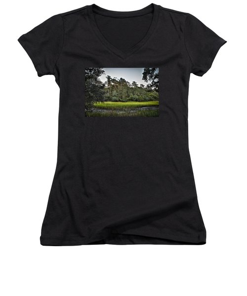 Last Light Women's V-Neck T-Shirt