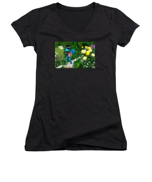 Lessons In Lifes Garden Women's V-Neck