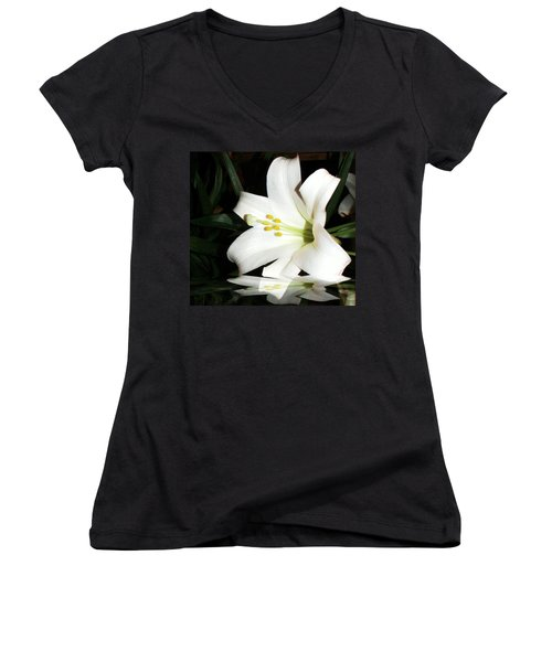 Lily Reflection Women's V-Neck (Athletic Fit)