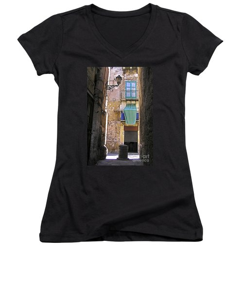 Little Street Of Palermo Women's V-Neck