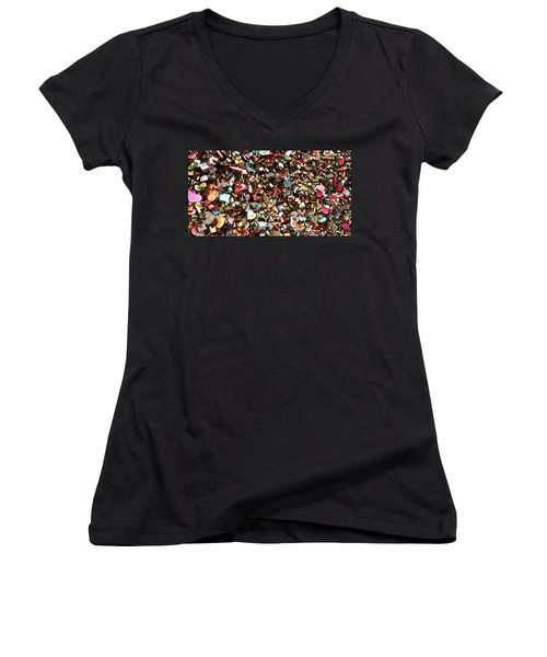 Locks Of Love Women's V-Neck T-Shirt (Junior Cut) by Kume Bryant