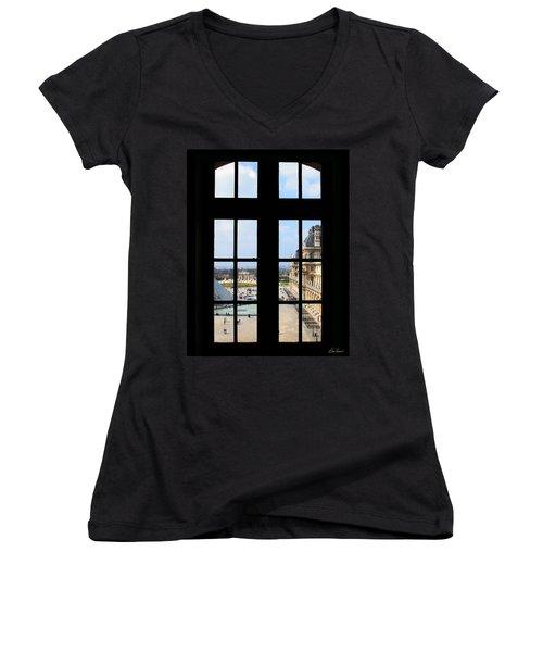 Louvre Window Women's V-Neck