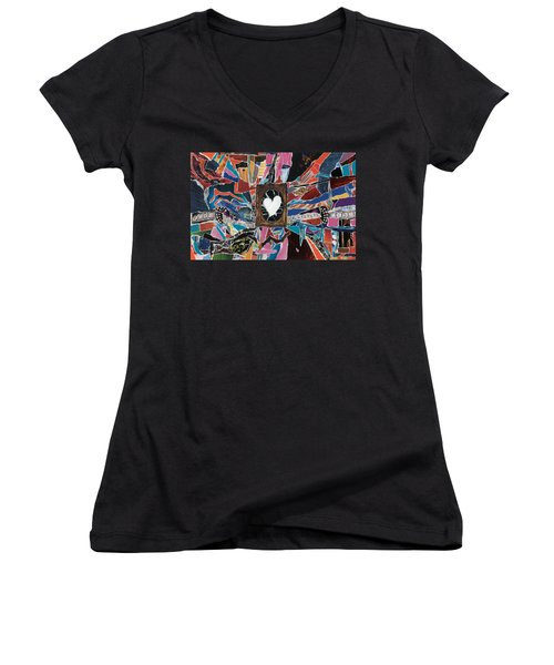 Love Always Pure Women's V-Neck (Athletic Fit)
