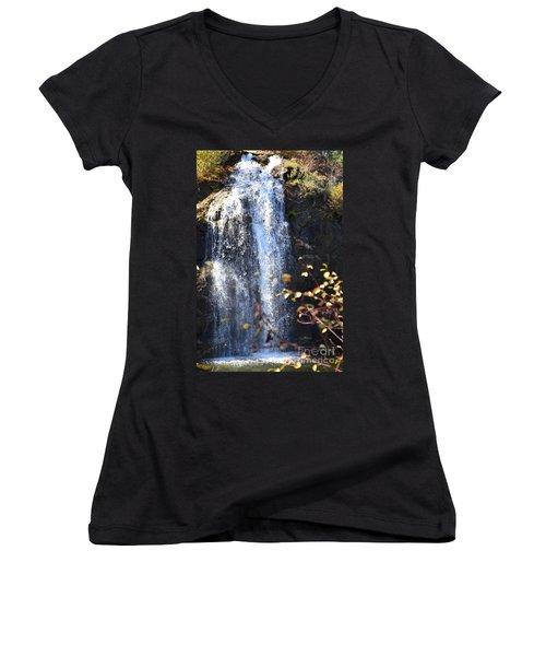 Mirabeau Falls Women's V-Neck T-Shirt