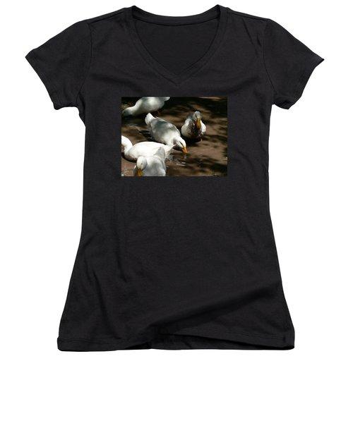 Muddy Ducks Women's V-Neck