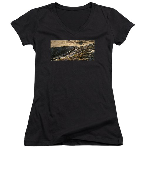 Mussels Sunset Women's V-Neck