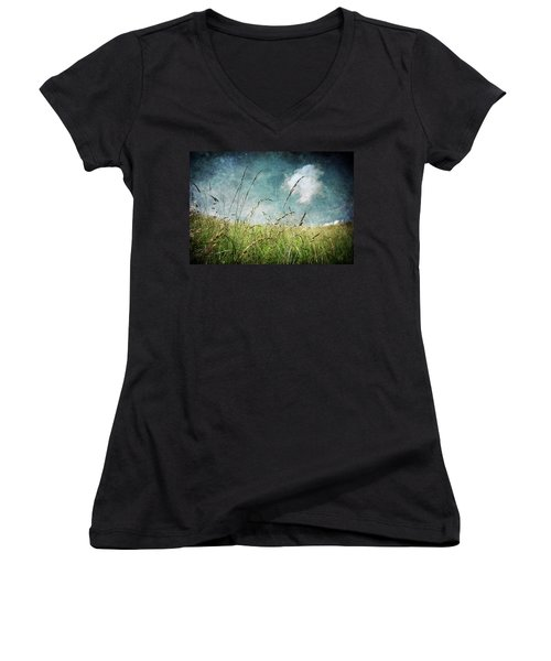 Nature Women's V-Neck T-Shirt