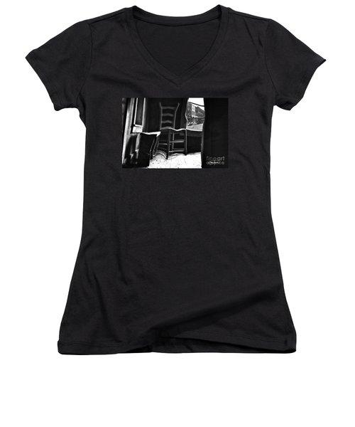 Near Normal Women's V-Neck T-Shirt