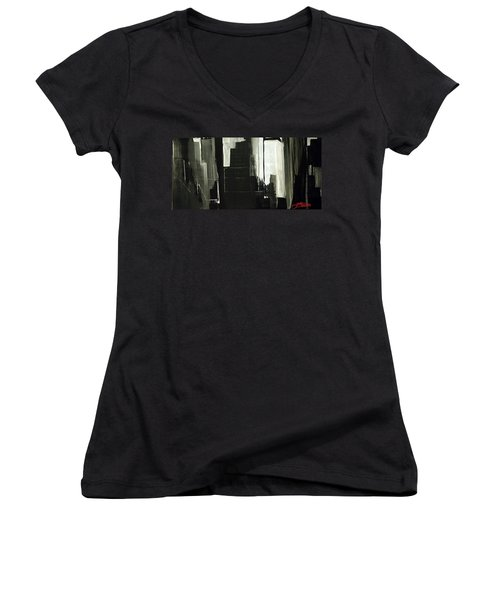 New York City Reflection Women's V-Neck