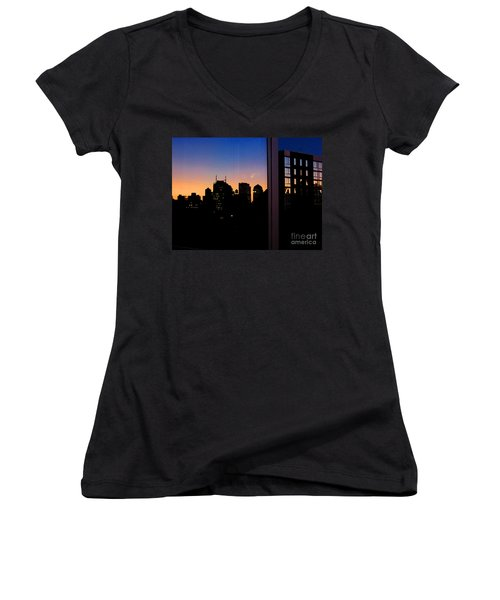 New York Reflections Women's V-Neck (Athletic Fit)