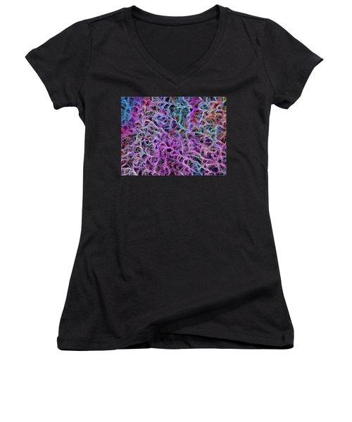Night Sunshine  - Design Women's V-Neck T-Shirt