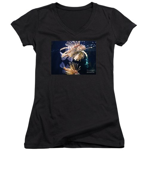 On The Prowl Women's V-Neck T-Shirt