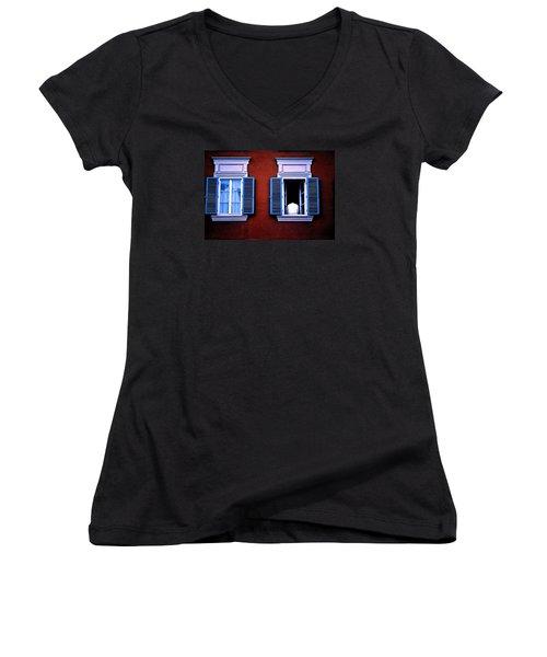Open Window Women's V-Neck T-Shirt