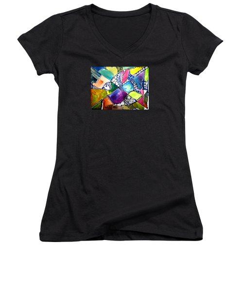 Paloma Viajera Women's V-Neck T-Shirt