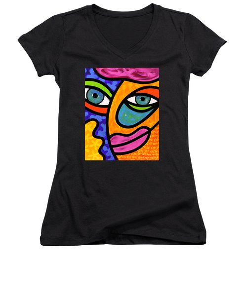 Penelope Peeples Women's V-Neck T-Shirt