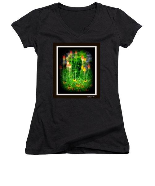 Poker Women's V-Neck T-Shirt