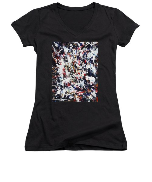 Pollock Women's V-Neck (Athletic Fit)