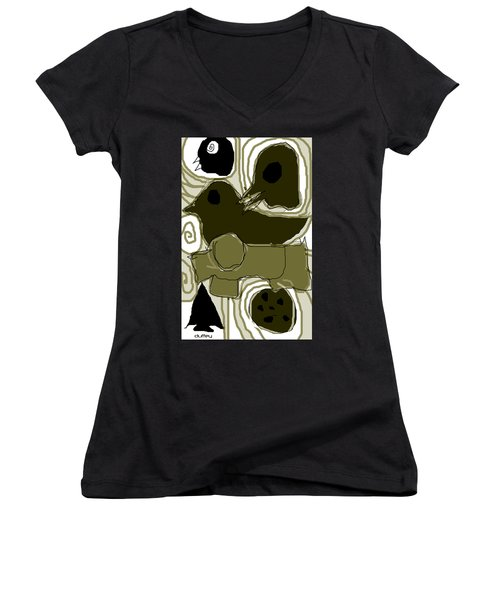 Poverty Point 1 Women's V-Neck T-Shirt