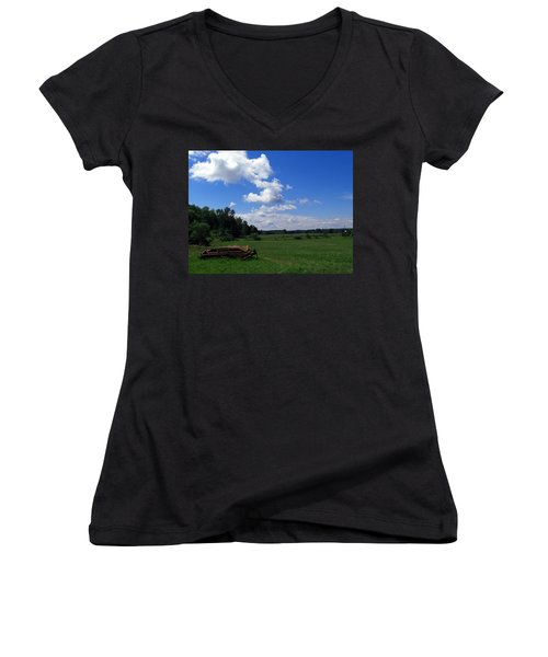 Ready For Work Women's V-Neck (Athletic Fit)
