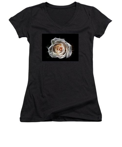 Rose Of Light Women's V-Neck T-Shirt