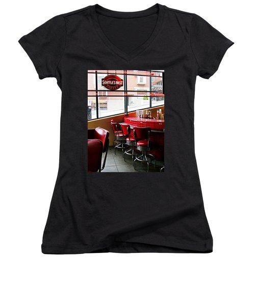 Seattle's Best Women's V-Neck T-Shirt