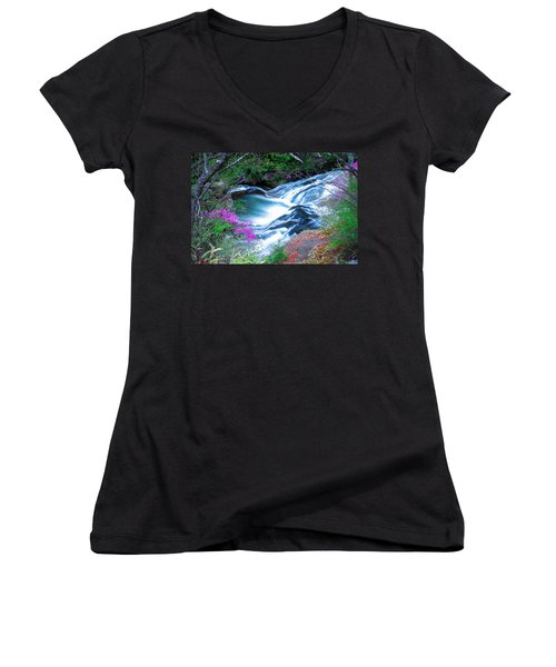 Serenity Flowing Women's V-Neck (Athletic Fit)