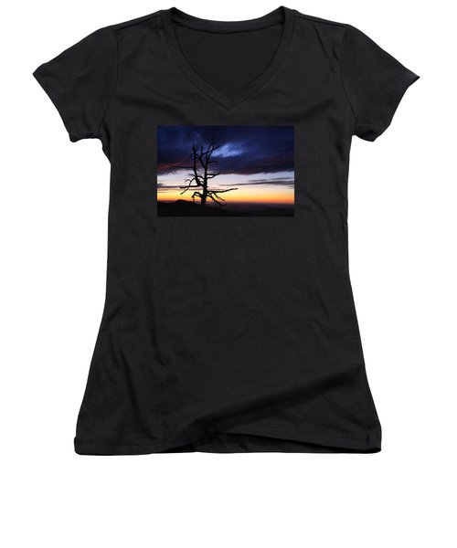 Something Wicked This Way Comes Women's V-Neck
