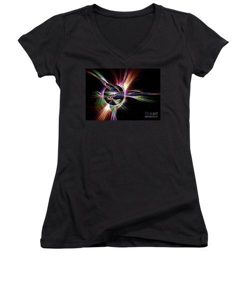 Spin Cycle Women's V-Neck T-Shirt