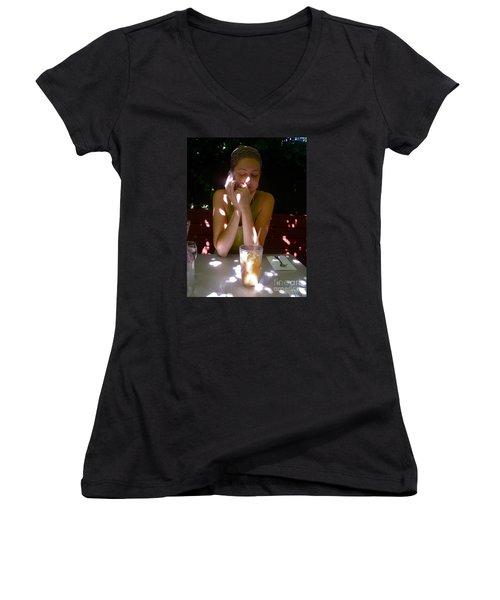Spotted In Sunlight Women's V-Neck T-Shirt
