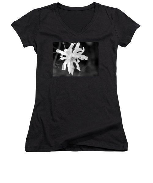 Star Magnolia Women's V-Neck T-Shirt