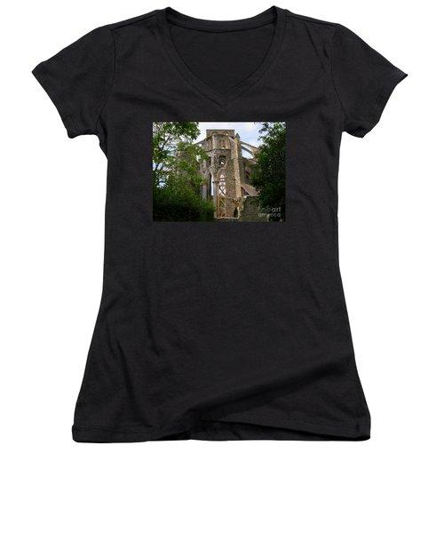 Still Standing Women's V-Neck T-Shirt